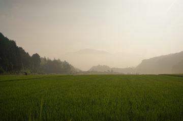 牛臥山と智頭町